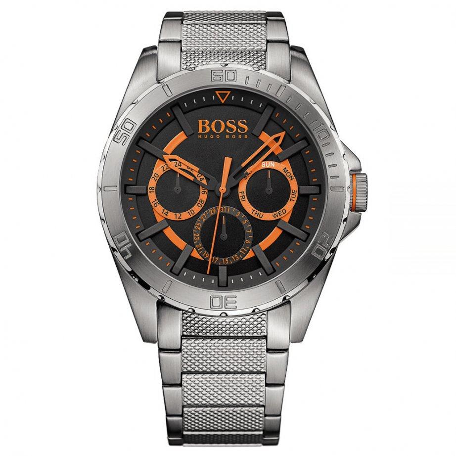 hugo boss orange 1513205 berlin men 39 s chronograph watch. Black Bedroom Furniture Sets. Home Design Ideas