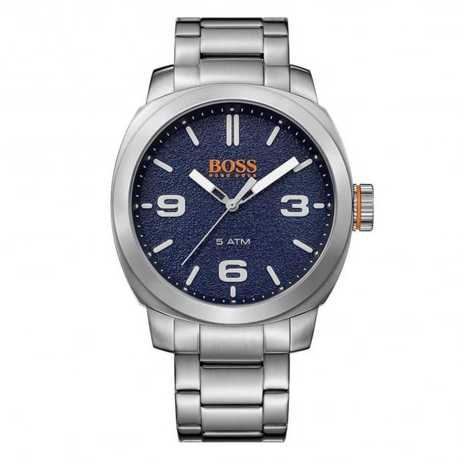 Hugo Boss Orange 1513419 Cape Town Blue & Silver Stainless Steel Men's Watch