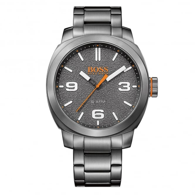 Hugo Boss Orange 1513420 Cape Town Grey Stainless Steel Men's Watch