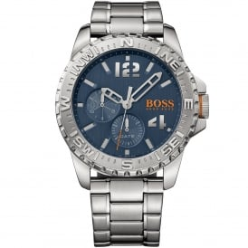 1513424 REYKJAVIK Blue & Silver Stainless Steel Men's Watch
