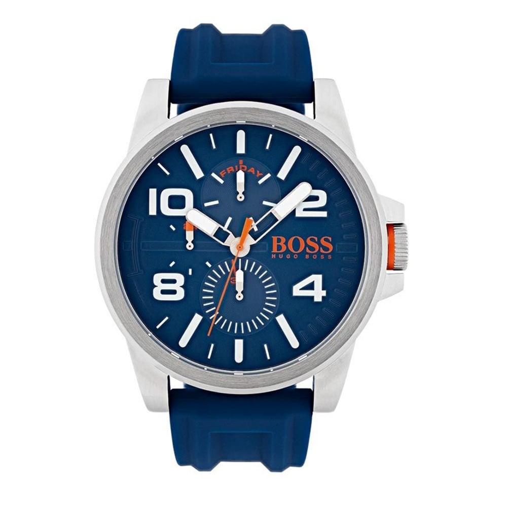 hugo boss orange hugo boss orange 1550008 men s detroit blue hugo boss orange hugo boss orange 1550008 men s detroit blue silver watch