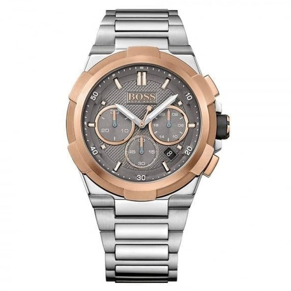 271f70c16c67a 1513362 Rose Gold And Stainless Steel Chronograph Supernova Men s Watch