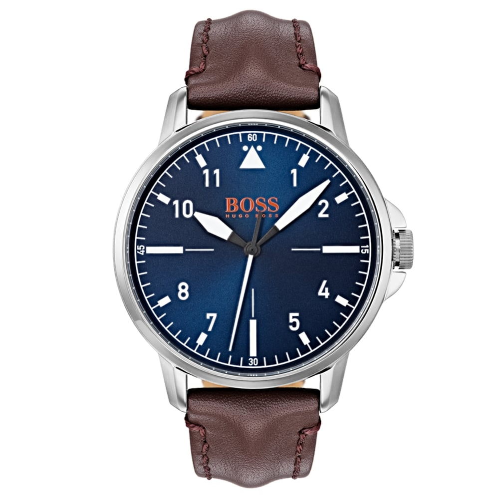 addedaf708fa9 Hugo Boss 1550060 Chicago Men s Leather Watch available at Tic Watches