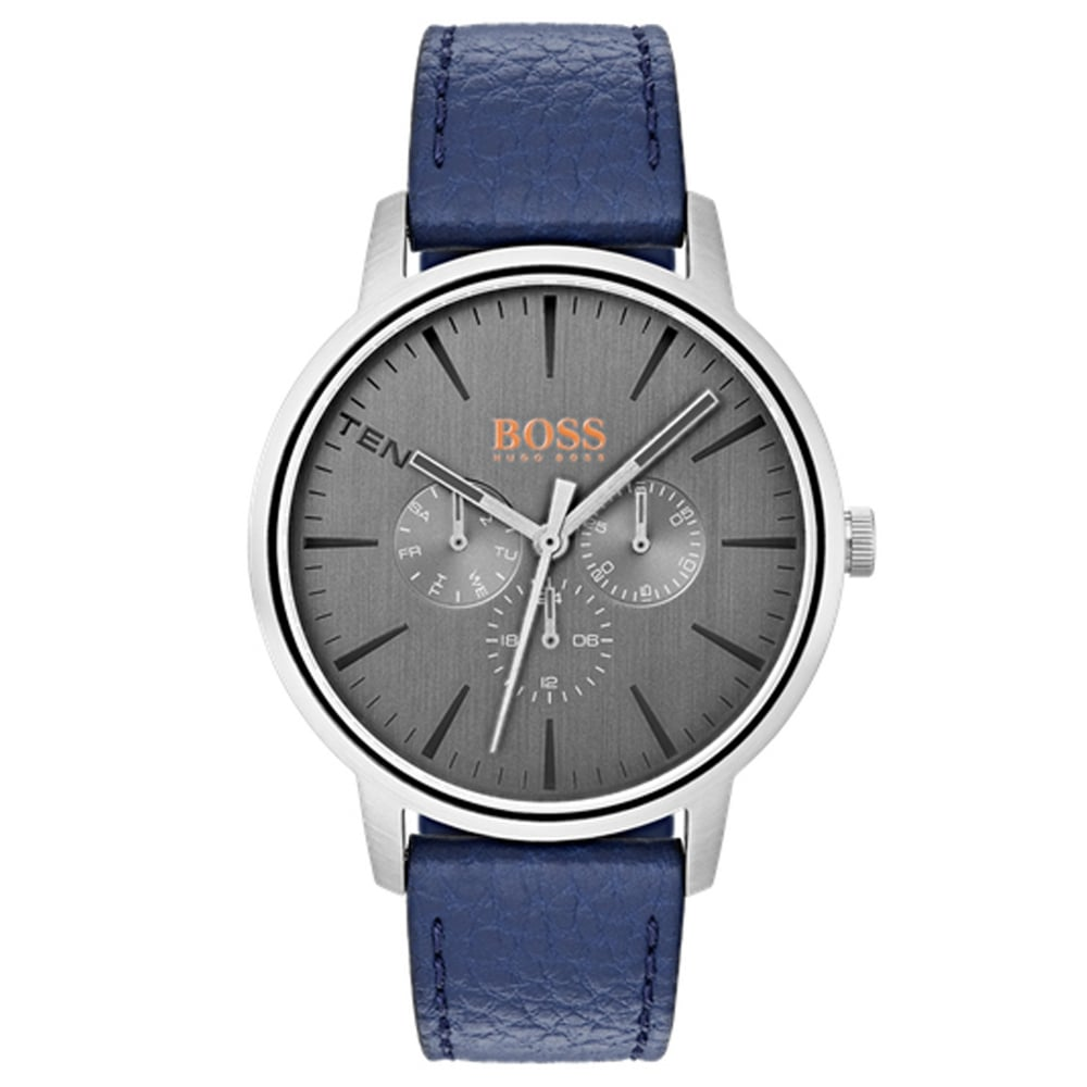 Hugo Boss 1550066 Copenhagen Men s Leather Watch available at Tic ... 98d57a1a2