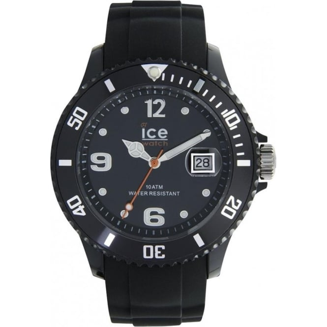 Ice-Watch Black Sili Forever Unisex Watch SI.BK.U.S.09