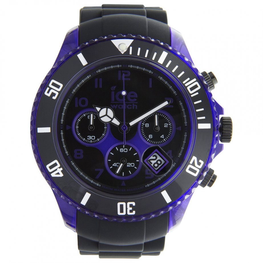 ice watch chrono electrik black and purple watch ch kpe bb. Black Bedroom Furniture Sets. Home Design Ideas