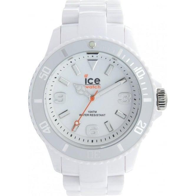 Ice-Watch Ice Solid White Unisex Watch SD.WE.U.P.12