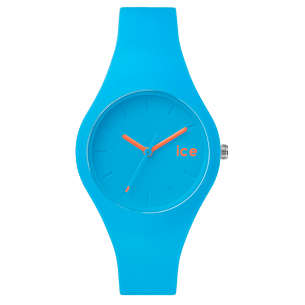 Wristwatches Ice-Watch Chamallow Neon Blue Silicone Watch