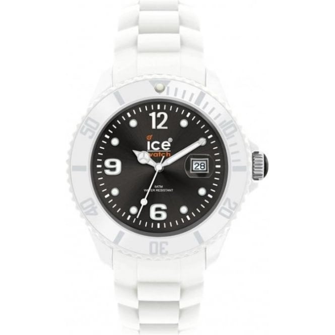 Ice-Watch White-black Ice White Small Watch SI.WK.S.S.10
