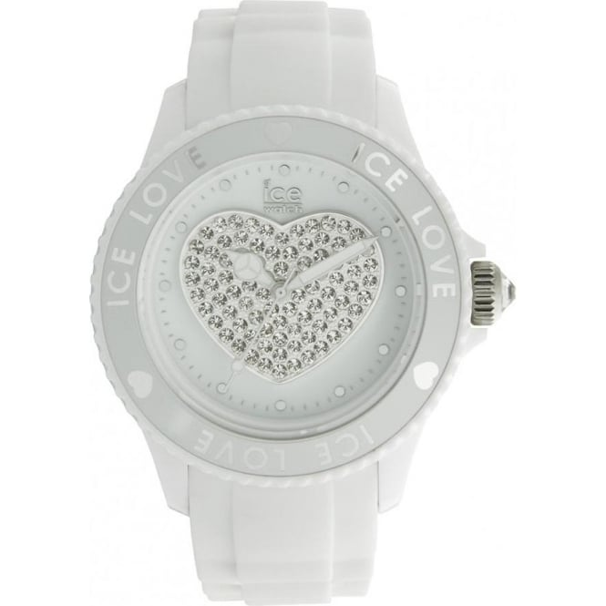 Ice-Watch White Ice-Love Unisex Watch LO.WE.U.S.10