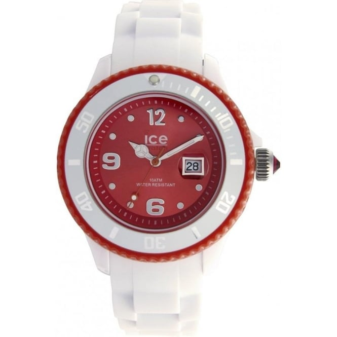 Ice-Watch White-red Ice White Small Watch SI.WD.S.S.11