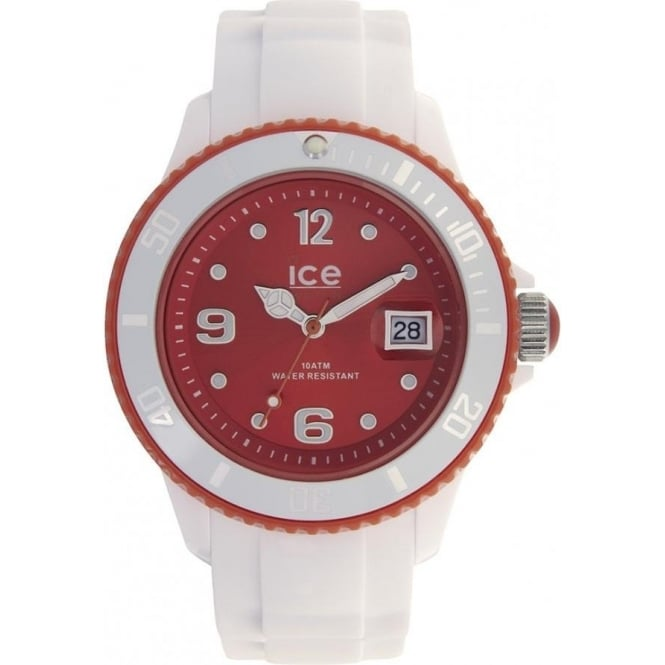 Ice-Watch White-red Ice White Unisex Watch SI.WD.U.S.11