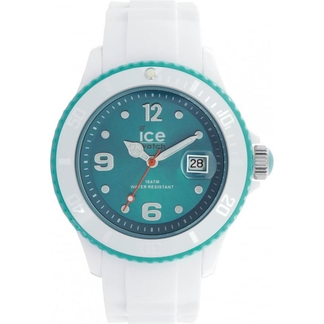 Ice-Watch White-turquoise Ice White Unisex Watch SI.WT.U.S.11