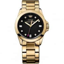 Juicy Couture 1901122 Stella Gold & Black Woman's Watch