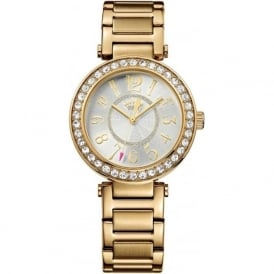 Juicy Couture 1901151 Luxe Couture Gold Woman's Watch