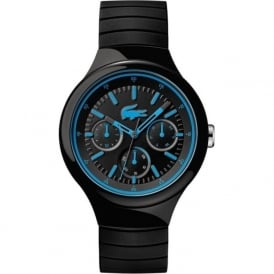 Lacoste 2010869 Borneo Blue & Black Silicone Mens Watch