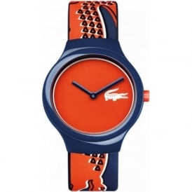 Lacoste 2020113 Goa Red & Blue Silicone Watch