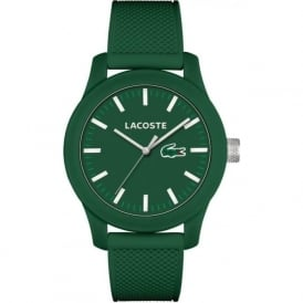 Lacoste 12.12 2010822 UniSex Green Rubber Strapped Watch