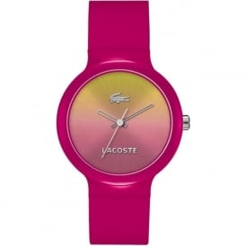 Lacoste Goa 2020078 Pink Strap Watch
