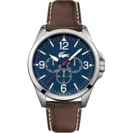 Lacoste Montreal 2010805 Men's Brown Leather Watch