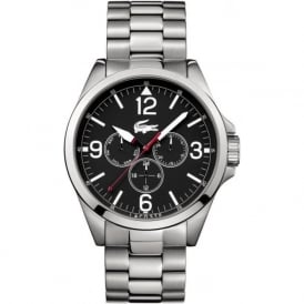 Lacoste Montreal 2010808 Black & Silver Chronograph Watch
