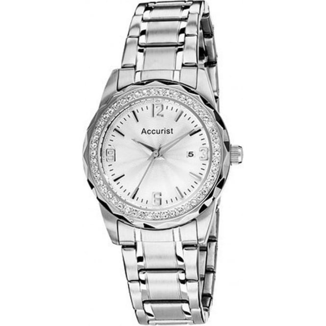 Accurist Silver Ladies Watch LB1683