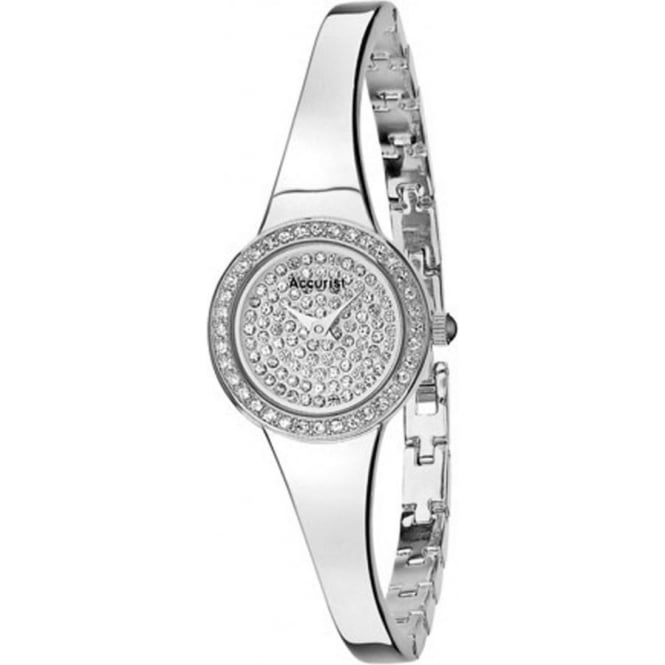Accurist Silver Ladies Watch LB1756