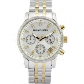 Michael Kors Watches Ladies Chronograph Stainless steel Watch MK5057