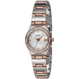 Accurist LB1663P Two Tone Stainless Steel Ladies Watch