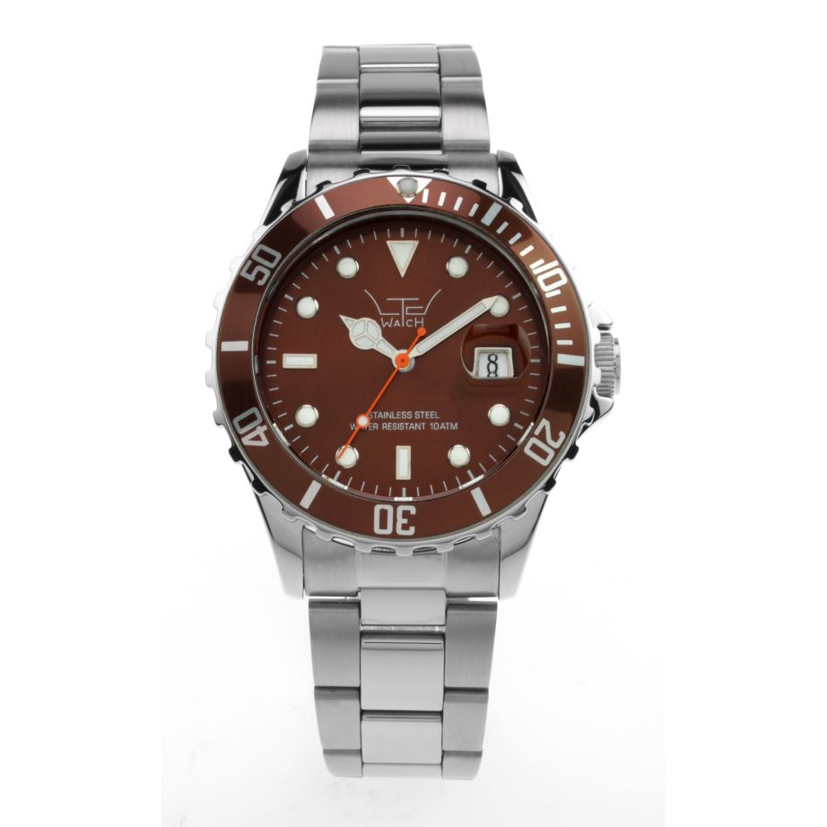 Ltd brown stainless steel limited watch buy
