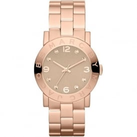Marc Jacobs MBM3221 Amy Rose Gold Tone Stainless Steel Ladies Watch