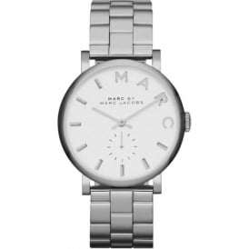 Marc Jacobs MBM3242 Baker Silver Stainless Steel Ladies Watch