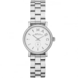 Marc Jacobs MBM3246 Mark Jacobs Baker White & sliver ladies watch