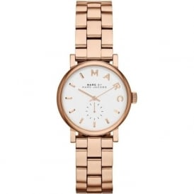 MBM3248 Marc Jacobs Baker rose gold & white ladies watch