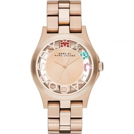MBM3264 MARC JACOBS ROSE GOLD STAINLESS STEEL LADIES WATCH