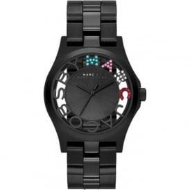 Marc Jacobs MBM3265 Henry Black Stainless Steel Ladies Watch