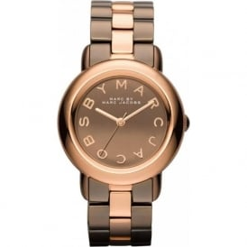 Marc Jacobs MBM3171 Marci Rose Gold & Brown Stainless Steel Ladies Watch