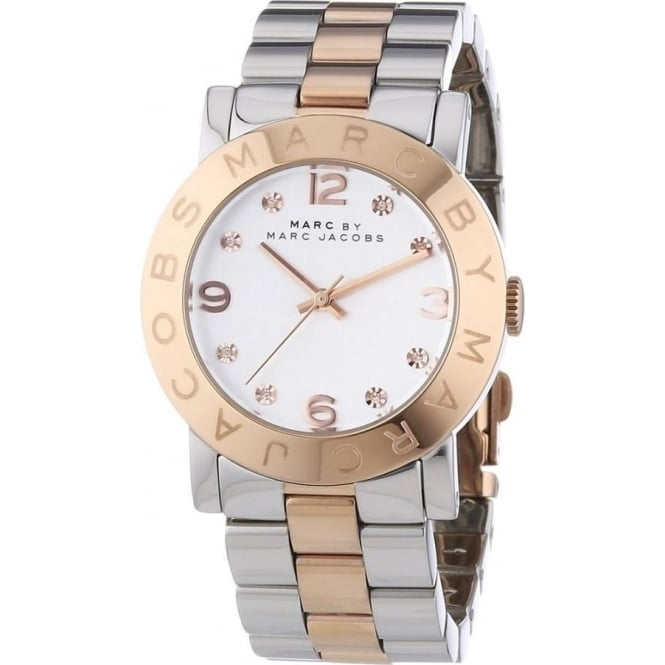 Marc Jacobs MBM3194 Amy Two Tone Stainless Steel Ladies Watch