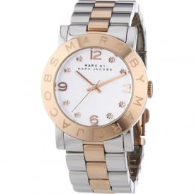 MBM3194 Amy Two Tone Stainless Steel Ladies Watch
