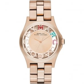 Marc Jacobs MBM3264 Rose Gold Stainless Steel Ladies Watch