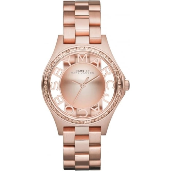 Marc Jacobs MBM3339 Henry Glitz Rose Gold Ladies Watch