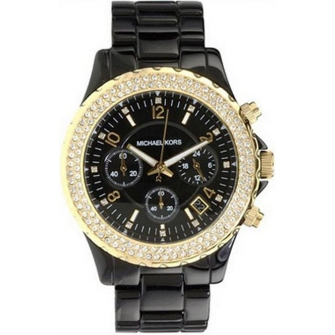 Michael Kors Watches Chronograph Black Watch MK5301
