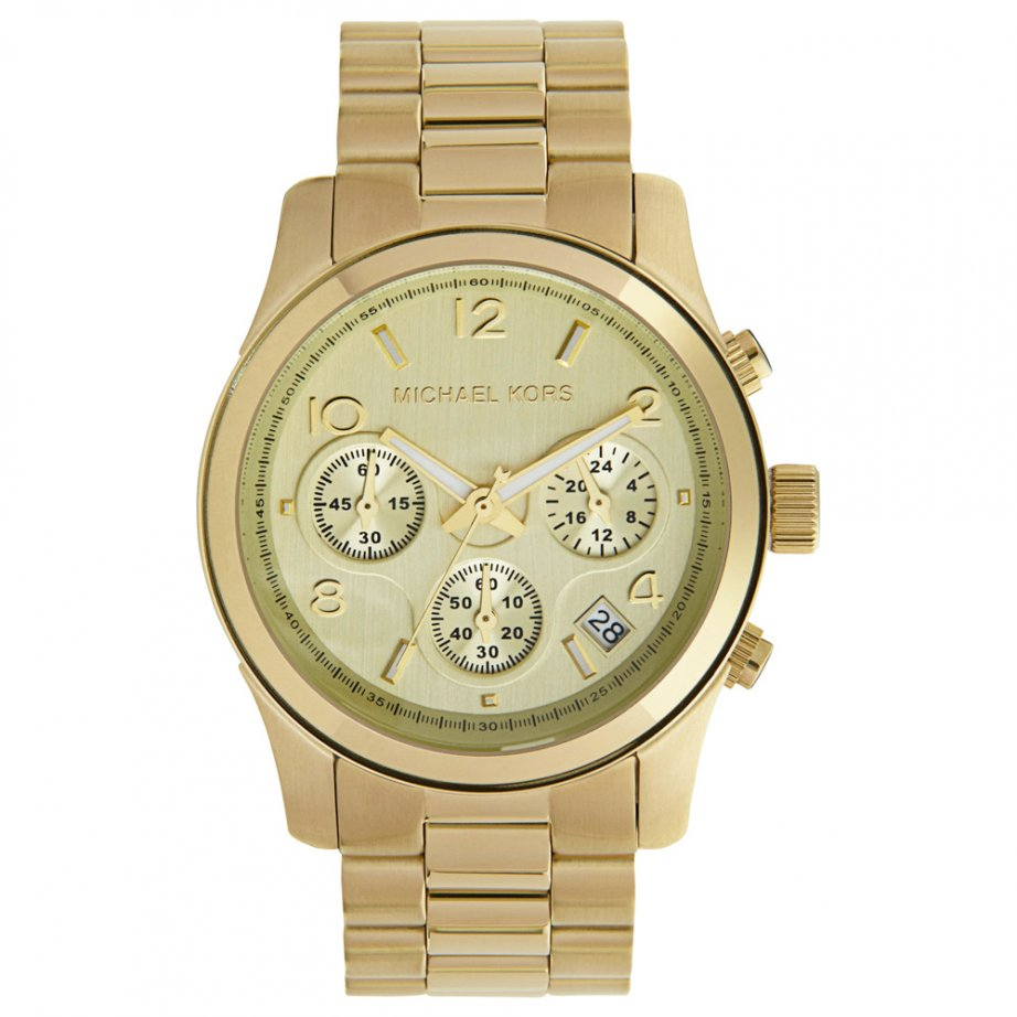michael kors chronograph gold tone mk5055 cheapest