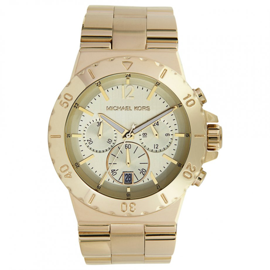 michael kors chronograph gold tone mk5313 cheapest