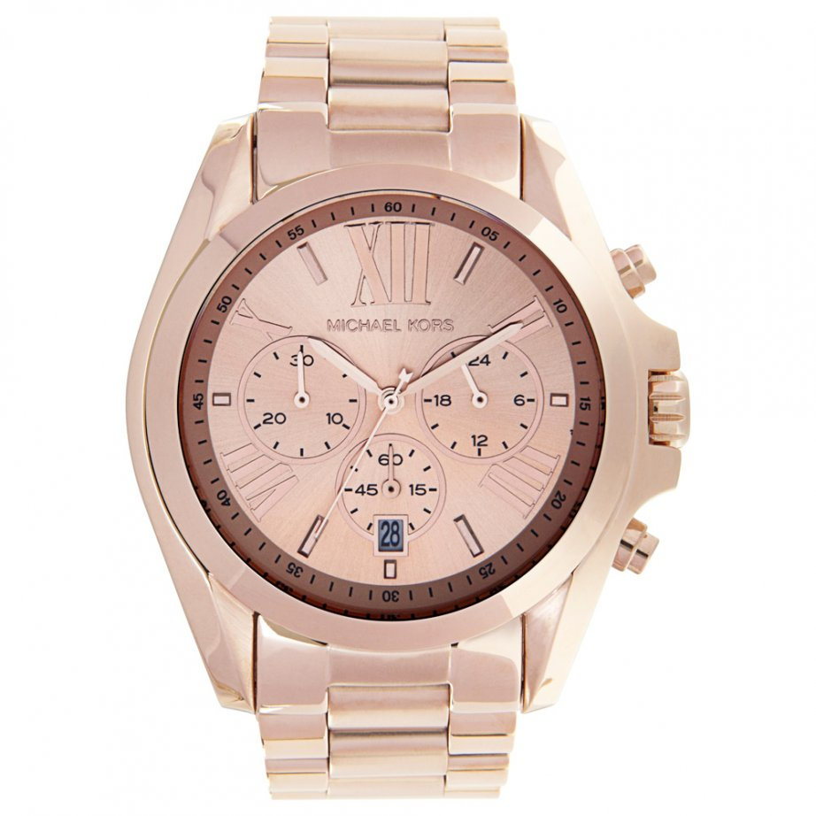 michael kors chronograph gold stainless steel mk5503