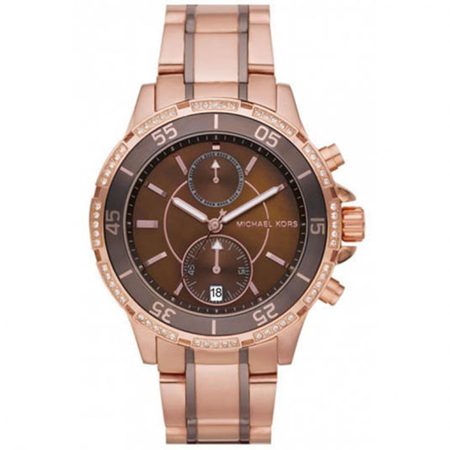 Rose Gold Watch Michael Kors Chronograph Michael Kors Rose Gold