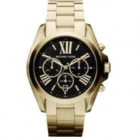 Michael Kors Watches MK5739 Ladies Chronograph Gold Stainless Steel Watch
