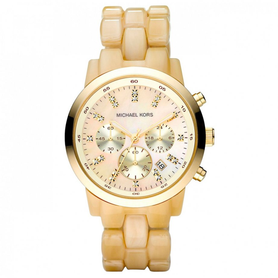 michael kors chronograph gold mk5217 cheapest