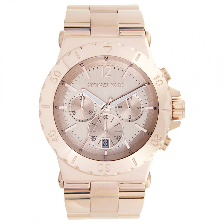 michael kors chronograph gold mk5314 cheapest