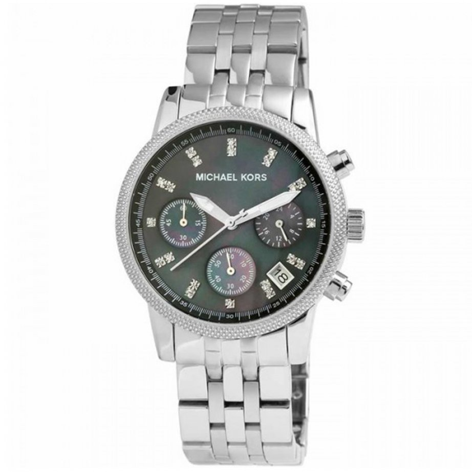 michael kors chronograph silver mk5021 cheapest